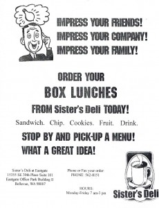 LUNCH BOX ORDER